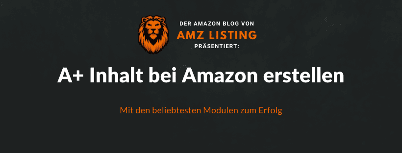 A+ Inhalte bei Amazon erstellen