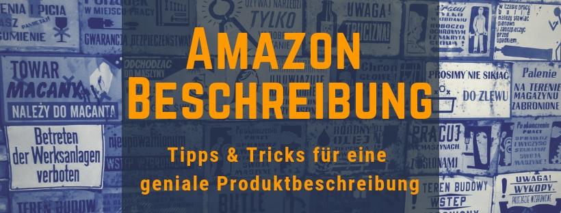 Amazon Seller Central Produktbeschreibung Formatieren
